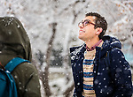 _YU17226<br /> <br /> 1611-42 GCS Snow and Students<br /> <br /> November 28, 2016<br /> <br /> Photography by: Nathaniel Ray Edwards/BYU Photo<br /> <br /> © BYU PHOTO 2016<br /> All Rights Reserved<br /> photo@byu.edu  (801)422-7322<br /> <br /> 7226