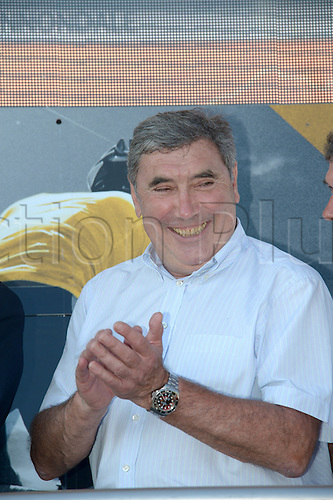 02.07.2013 Nice, France. Tour de France, Team Time Trial on stage 4 of the Tour De France from Nice. Merckx Eddy, Nice