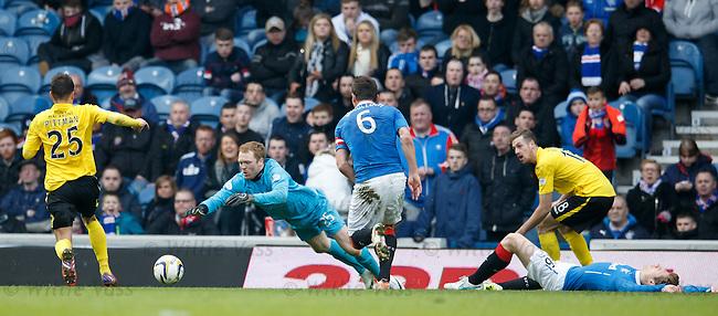 Lee Robinson saves as Marius Zaliukas likes sparkled on the pitch