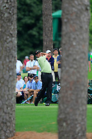 Jose Maria Olazabal (ESP) on the 17th tee during the 2nd round at the The Masters , Augusta National, Augusta, Georgia, USA. 12/04/2019.<br /> Picture Fran Caffrey / Golffile.ie<br /> <br /> All photo usage must carry mandatory copyright credit (© Golffile | Fran Caffrey)