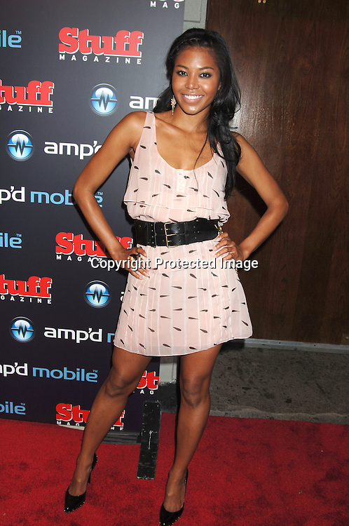 Amerie..arriving at The Amp'd Mobile/Stuff Magazine Pre-VMA..Bash at Marquee on August 30, 2006. ..Robin Platzer, Twin Images