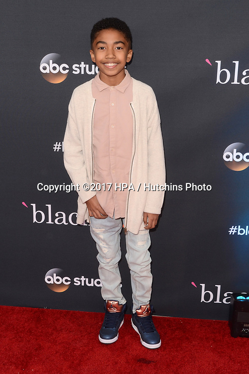 """LOS ANGELES - APR 12:  Miles Brown at the """"Blackish"""" FYC Event at the Television Academy, on April 12, 2017 in North Hollywood, CA"""