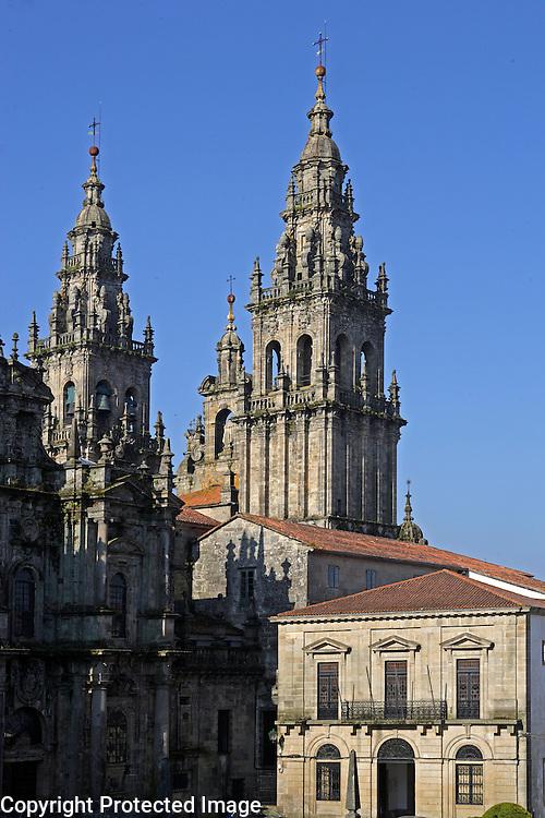 Espagne,Santiago de Compostela,Saint-Jaques-de-Compostelle,Cathedrale