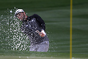February 3rd 2019, Scottsdale, Arizona, USA;  Jimmy Walker blasts out of the sand trap on the second hole during the final round of the Waste Management Phoenix Open on February 3, 2019, at TPC Scottsdale in Scottsdale, Arizona.