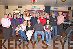 Sean Casey, Shinagh, Rathmore, pictured with family and friends as he celebrated his 60th birthday in Danny Pats bar, Rathmore on Saturday night.