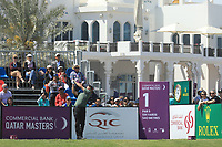 Nick Cullen (AUS) in action during the final round of the Commercial Bank Qatar Masters, Doha Golf Club, Doha, Qatar. 10/03/2019<br /> Picture: Golffile | Phil Inglis<br /> <br /> <br /> All photo usage must carry mandatory copyright credit (&copy; Golffile | Phil Inglis)