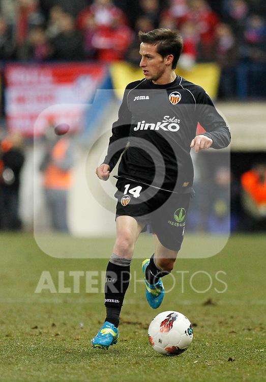 Madrid (05/02/2012) LIGA BBVA.Atletico de Madrid- Valencia C.F....PIATTI....