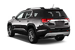Car pictures of rear three quarter view of 2018 GMC Acadia SLT-1-FWD 5 Door SUV Angular Rear