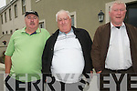 Watching the shearing competitions as part of the Sneem Family Festival were .L-R Brendan Foley, Mike Galvin and Tim O'Neill