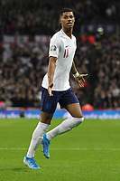Marcus Rashford of England celebrates scoring to make it 4-0 during the UEFA Euro 2020 Qualifying Group A match between England and Montenegro at Wembley Stadium on November 14th 2019 in London, England. (Photo by Matt Bradshaw/phcimages.com)<br /> Foto PHC Images / Insidefoto <br /> ITALY ONLY