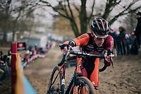 Jens Adams (BEL/Pauwels Sauzen-Vastgoedservice)<br /> <br /> Elite Men's Race<br /> Belgian National CX Championships / Koksijde 2018