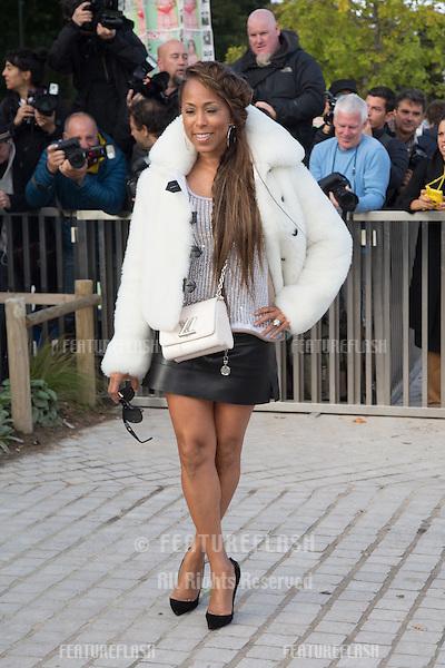 Marjorie Bridges-Woods attend Louis Vuitton Show Front Row - Paris Fashion Week  2016.<br /> October 7, 2015 Paris, France<br /> Picture: Kristina Afanasyeva / Featureflash