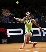 28th April 2017, Stuttgart, Germany; Porsche Tennis Grand Prix Stuttgart; Carla Suarez Navarro (ESP)