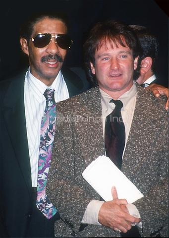 Richard Pryor and Robin Williams 1991<br /> Photo By John Barrett/PHOTOlink.net /MediaPunch