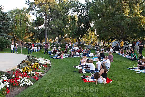 The Utah Chapter of Parents of Murdered Children held a vigil at the International Peace Gardens to remember the victims of deadly violence, Saturday, September 26 2009 in Salt Lake City.