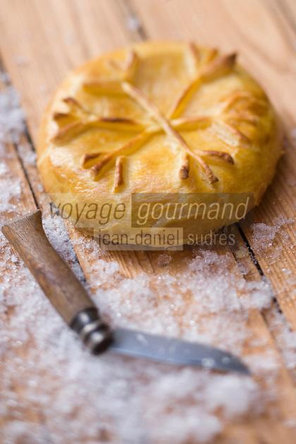 """Europe/France/Rhone-Alpes/74/Haute-Savoie/Megève: Reblochon en croute recette d'Emmanuel Renaut du restaurant """"Flocons de Sel"""""""