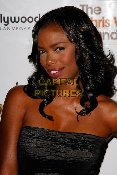 JILL MARIE JONES .Chris Webber hosts his 3rd annual Bada Bling Gala at the Planet Hollywood Hotel and Casino, Las Vegas, Nevada, USA..July 26th, 2008.headshot portrait black strapless .CAP/ADM/MJT.© MJT/AdMedia/Capital Pictures.