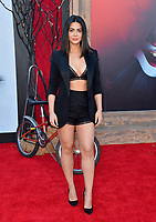 "LOS ANGELES, USA. August 27, 2019: Emeraude Toubia at the premiere of ""IT Chapter Two"" at the Regency Village Theatre.<br /> Picture: Paul Smith/Featureflash"