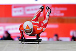 17 December 2010: Lukas Kummer sliding for Switzerland, finishes in 20th place at the Viessmann FIBT Skeleton World Cup Championships in Lake Placid, New York, USA. Mandatory Credit: Ed Wolfstein Photo