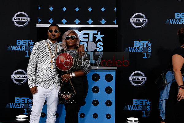 Buck Thomas, PreMadonna<br /> at the BET Awards 2017, Microsoft Theater, Los Angeles, CA 06-25-17<br /> David Edwards/DailyCeleb.com 818-249-4998