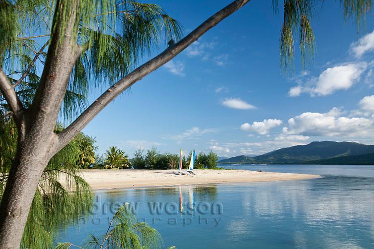 Beach at Double Island.  Palm Cove, Cairns, Queensland, Australia