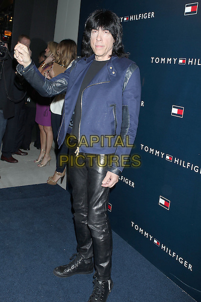Mark Ramone.Tommy Hilfiger West Coast Flagship Grand Opening Event, West Hollywood, California, USA, .13th February 2013 ..full length blue jacket black leather trousers .CAP/ADM/RE.©Russ Elliot/AdMedia/Capital Pictures.