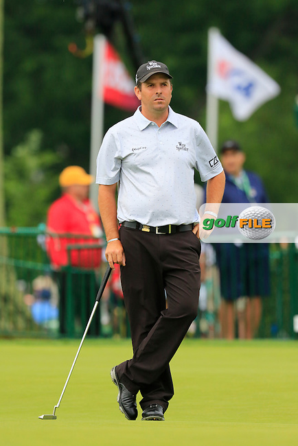 Thomas Aiken (RSA) on the 9th green during Friday's Round 1 of the 2016 U.S. Open Championship held at Oakmont Country Club, Oakmont, Pittsburgh, Pennsylvania, United States of America. 17th June 2016.<br /> Picture: Eoin Clarke | Golffile<br /> <br /> <br /> All photos usage must carry mandatory copyright credit (&copy; Golffile | Eoin Clarke)