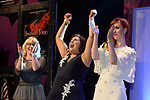 Mary Cornally of Clara Musical Society is overjoyed at the announcement that they won the Best Visual Award for 'Cats' at the Association of Irish Musical Societies annual awards in the INEC, KIllarney at the weekend.<br /> Photo: Don MacMonagle -macmonagle.com<br /> <br /> <br /> <br /> repro free photo from AIMS<br /> Further Information:<br /> Kate Furlong AIMS PRO kate.furlong84@gmail.com
