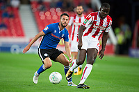 Kurt Zouma of Stoke City during the Carabao Cup match between Stoke City and Rochdale at the Britannia Stadium, Stoke-on-Trent, England on 23 August 2017. Photo by James Williamson / PRiME Media Images.