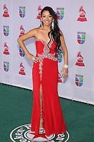 LAS VEGAS, NV - NOVEMBER 15 :  Desiree Estrada pictured at the 2012 Latin Grammys at Mandalay Bay Resort on November 15, 2012 in Las Vegas, Nevada.  Credit: Kabik/Starlitepics/MediaPunch Inc. /NortePhoto