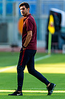 Paulo Fonseca coach of AS Roma <br /> Roma 11/08/2019 Stadio Stadio Olimpico Football friendly match pre season 2019/2020 AS Roma - Real Madrid <br /> Mabel Green Cup Trophy <br /> Foto Andrea Staccioli / Insidefoto