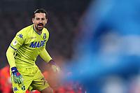 Gianluca Pegolo Sassuolo<br /> Napoli 13-01-2019  Stadio San Paolo <br /> Football Italy Cup 2018/2019, round of 16<br /> Napoli - Sassuolo<br /> Foto Cesare Purini / Insidefoto