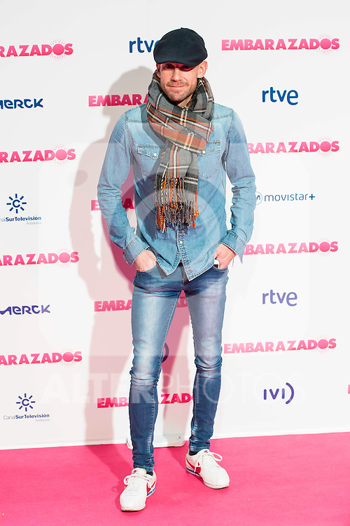 Ramon Fuentes attends to the premiere of the film &quot;Embarazados&quot; at Capitol Cinemas in Madrid, January 27, 2016.<br /> (ALTERPHOTOS/BorjaB.Hojas)