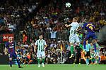 League Santander 2017/2018. Game: 01.<br /> FC Barcelona vs Real Betis: 2-0.<br /> Joaquin vs Samedo.