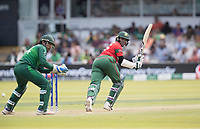 Shakib Al Hasan (Bangladesh) glances fine for four runs during Pakistan vs Bangladesh, ICC World Cup Cricket at Lord's Cricket Ground on 5th July 2019