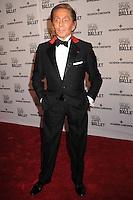 NEW YORK CITY, NY, USA - MAY 08: Valentino Garavani at the New York City Ballet 2014 Spring Gala held at the David H. Koch Theater - Lincoln Center on May 8, 2014 in New York City, New York, United States. (Photo by Celebrity Monitor)