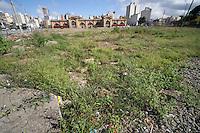 SÃO PAULO, SP, 01/05/2012, PÇA SÃO VITO.<br /> <br />  Há exatamente um ano era completado a demolição do Edificio São Vito no Pq. D. Pedro em São Paulo, no local a prefeitura pretende fazer uma praça, porém até hoje o projeto não saiu do papel e o local está abandonado.<br /> <br />  Luiz Guarnieri/ Brazil Photo Press