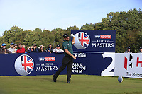 Andy Sullivan (ENG) on the 2nd tee during Round 3 of the Sky Sports British Masters at Walton Heath Golf Club in Tadworth, Surrey, England on Saturday 13th Oct 2018.<br /> Picture:  Thos Caffrey | Golffile