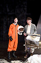 Little Eagles by Rona Munro. A Royal Shakespeare Company Production directed by Roxana Silbert. With Dyfan Dwyfor as Yuri Gagarin, Sandy Neilson as Yakov. Opens at The Hampstead  Theatre on 21/4/11 CREDIT Geraint Lewis