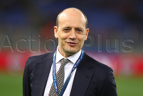 17.02.2016. Stadio Olimpico, Rome, Italy. UEFA Champions League, Round of 16 - first leg, AS Roma versus Real Madrid. BALDISSONI MAURO