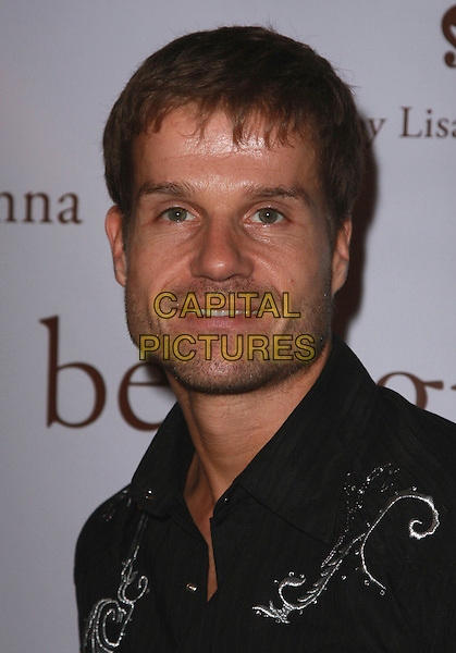 LOUIS VAN AMSTEL.Belle Gray By Lisa Rinna Grand Re-Opening held at the Belle Gray Store, Sherman Oaks, California, USA..November 15th, 2007.headshot portrait stubble facial hair .CAP/ADM/CH.©Charles Harris/AdMedia/Capital Pictures.