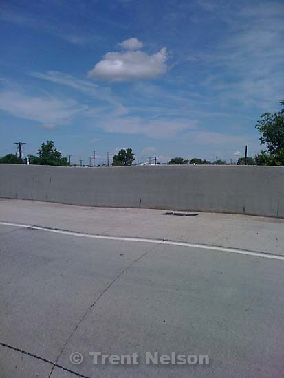 Driving to the veterans' cemetery, along I-15, redwood road, bangerter highway. soundwall