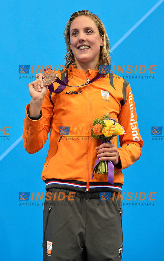 VELDHUIS Marleen Nederland (bronze medal).women 50 freestyle.Swimming Finals.London 2012 Olympics - Olimpiadi Londra 2012.day 09 Aug.4.Photo G.Scala/Deepbluemedia.eu/Insidefoto