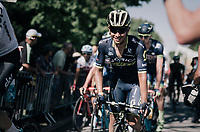 Johan Esteban Chaves (COL/ORICA-Scott) crossing the finish line safely<br /> <br /> 104th Tour de France 2017<br /> Stage 4 - Mondorf-les-Bains &rsaquo; Vittel (203km)