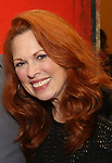 """Carolee Carmello attends the final performance after party for the New York City Center Encores! at 25 production of  """"Hey, Look Me Over!"""" on February 11, 2018 at the City Center Theatre in New York City."""