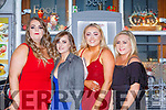 Sarah and NAtalie O'Donovan, Chloe McCArthy and Yvonne O'Shea enjoying  New Year Eve in the Failte bar Killarney on Monday night