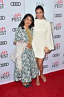 Minhal Baig und Purbi Joshi beim Screening des Kinofilms 'Hala' auf dem AFI Fest 2019 im TCL Chinese Theatre. Los Angeles, 18.11.2019