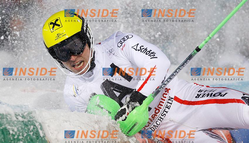 Marcel Hirscher Austria.Schladming 24/1/2012 Sci Slalom Speciale.Foto Insidefoto / J primoz / PhotoSI / Panoramic.ITALY ONLY