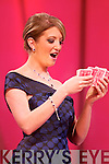 South Australia Rose Sarah Doherty performs a magic trick during the Tuesday night Rose Selection.