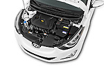 Car Stock 2016 Hyundai Elantra Value Edition 4 Door Sedan Engine high angle detail view